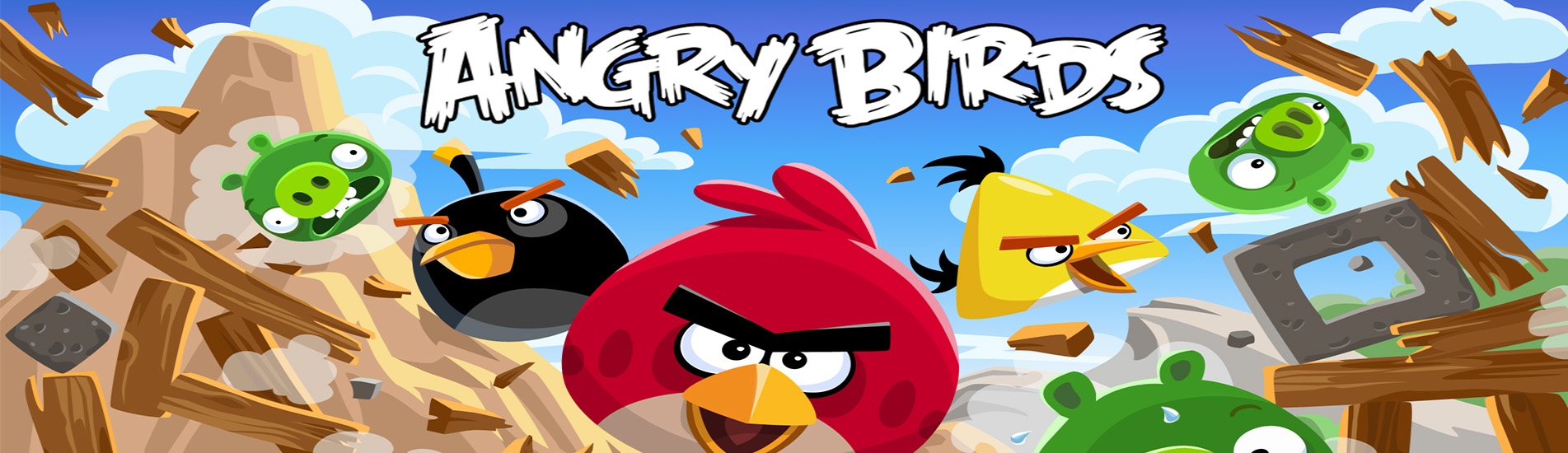 Premier slide angry birds simple
