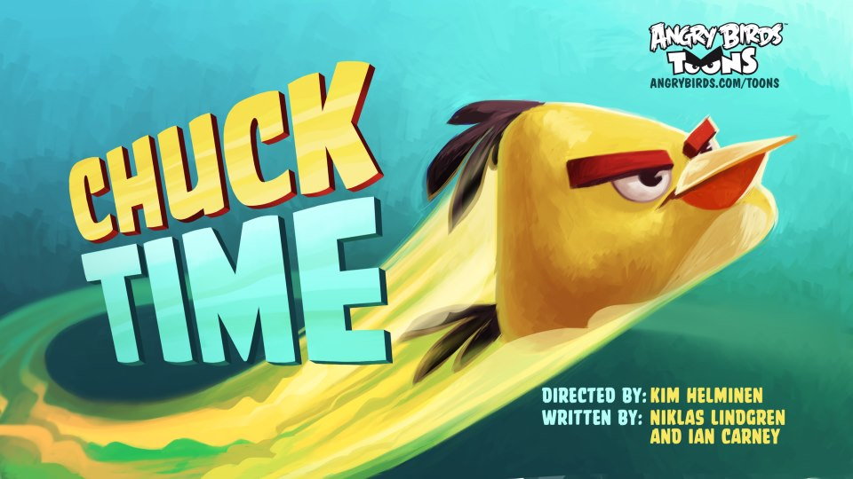 Passage du film angry birds toons: Chuck Time